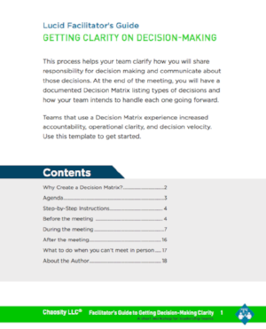 Getting Clarity On Decision Making By Creating A Decision Matrix