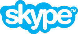 Skype video conferencing logo