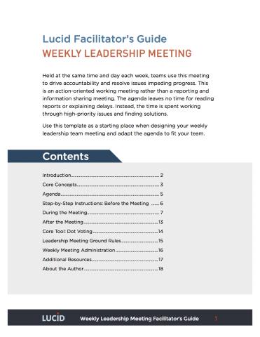 Leadership Teams | Lucid Meetings